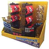 Fisher Price Imaginext Adventures Pirate Ship W9596 / Barco Pirata