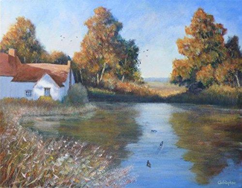 il-mill-pond-45cmx35cm-vecchio-cottage-dipinto-willy-lott-paesaggio-inglese