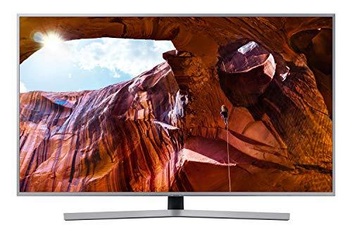 """Samsung UE65RU7450UXZT Smart TV 4k Ultra HD 65"""" Wi-Fi DVB-T2CS2, Serie RU7450, 3840 x 2160 Pixels, Silver, 2019 [Esclusiva Amazon]"""