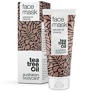 Australian Bodycare Face Mask - Gesichtsmaske mit natürlichem Teebaumöl gegen Pickel und unreine Haut. Gesichtspflege für alle Hauttypen. Anti-Pickel Maske gegen Mitesser und Hautunreinheiten (100 ml)