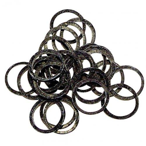 Artikelbild: Hundehaargummis schwarz Latex, 100 St. von Vivog