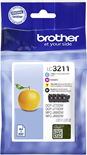 Brother Patrone LC-3211VALDR DCP-J772/4DW, MFC-J890DW