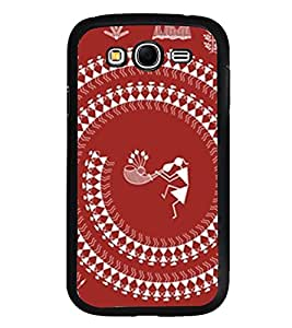 ifasho Designer Back Case Cover for Samsung Galaxy Grand Neo I9060 :: Samsung Galaxy Grand Lite (Tribal Madrid Spain Shillong)