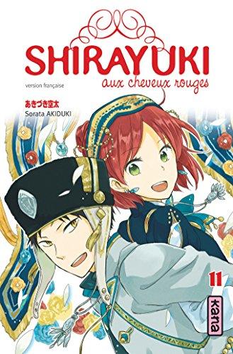Shirayuki aux cheveux rouges, tome 11 par Sorata Akiduki