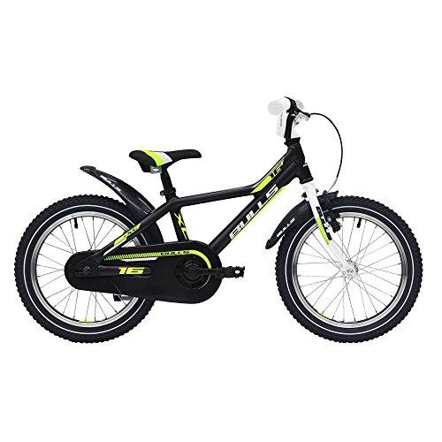 BULLS Tokee Lite 16' Zoll 2018 Kinderfahrrad V-Brake Singlespeed, Farbe:schwarz, Rahmenhöhe:23 cm