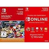 Mario Kart 8 Deluxe [Switch Download Code] + Switch Online 12 Monate [Download Code]