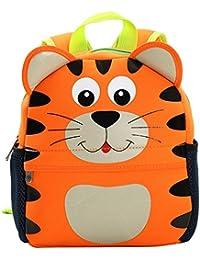 Preisvergleich für PENGYUE Kinderrucksack Kindergartenrucksack Kinder Rucksack Bestickt mit Tier Niedlich Baby Backpack Geeignet...