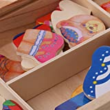 Generic-Bear-Family-Changing-Clothes-Game-Wood-Kid-Developmental-Matching-Puzzle-Toy