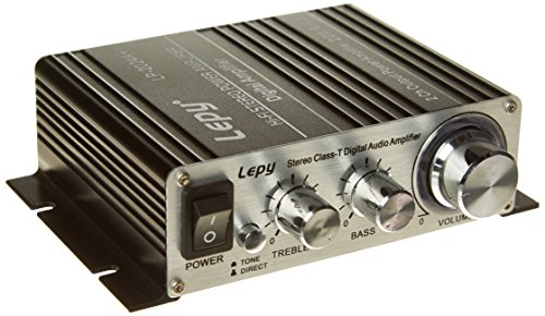 LEPY 2024A Plus Amplifier - Silv...