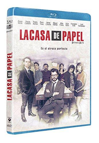 La casa de papel (Primera parte) [Blu-ray]