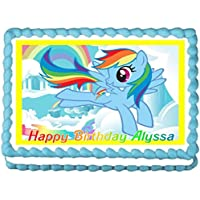 My Little Pony - Rainbow Dash Edible