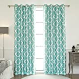 Best Home Fashion Moroccan Faux Silk Blackout Curtain - Best Reviews Guide