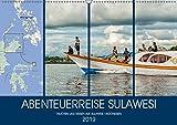 ABENTEUERREISE SULAWESI (Wandkalender 2019 DIN A2 quer): Eine Abenteuer- und Tauchreise auf der Indonesischen Insel Sulawesi (Monatskalender, 14 Seiten ) (CALVENDO Orte)