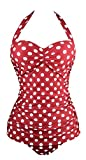 Angerella Vintage 50s Pin Up Bademode One Piece Monokinis (SST035-W3-L)
