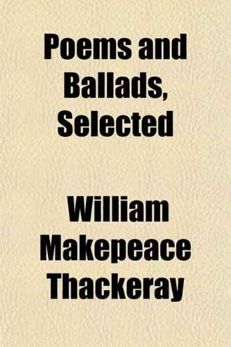 Poems and Ballads, Selected