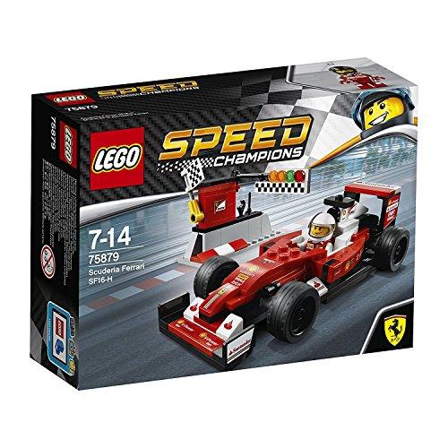 LEGO Speed Champions SF16-H de la escudería Ferrari - juegos de construcción (Multicolor, 7 año(s), 184 pieza(s), 14 año(s), 1 pieza(s))