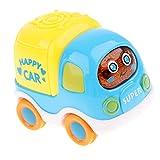 Baoblaze Aufziehauto Auto zum Aufziehen und Fahren - Aufziehfahrzeug/Fahrzeug - für Kinder - Feuerwehrauto