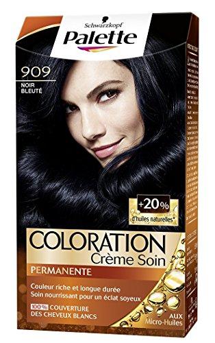 Schwarzkopf - Palette - Coloration Permanente - Noir Bleuté 909