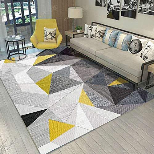 XTUK Alfombra de decoración para el hogar Colourfast, Alfombra fácil de Limpiar Sala de Estar/Dormitorio/Cocina/Pasillo...
