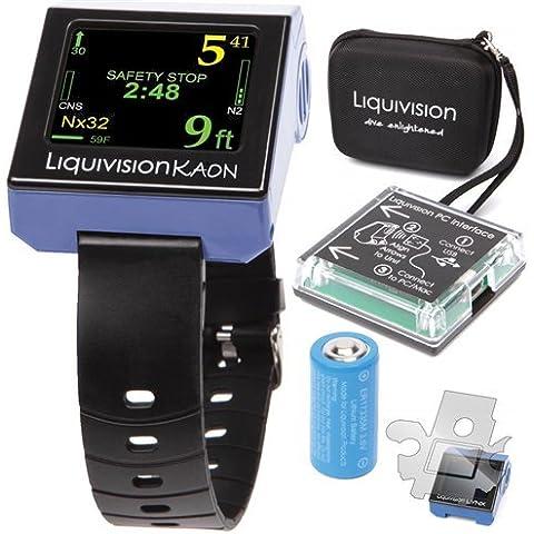 Liquivision Kaon Air & Nitrox Dive Computer Kit LV-ES-KN-2 by Liquivision - Nitrox Air