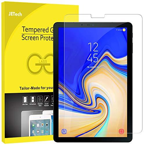 JETech Protection Écran Compatible avec Galaxy Tab S4 10,5 Pouces 2018 (SM-T830/T835/T837), Film de Protection en Verre Trempé