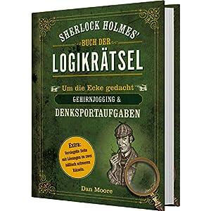 510zTtf0RjL. SS300  - Sherlock Holmes' Buch der Logikrätsel: Um die Ecke gedacht - Gehirnjogging & Denksportaufgaben