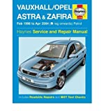 [(Vauxhall Opel Astra and Zafira Petrol: 98-04)] [ By (author) A. K. Legg, By (author) Martynn Randall ] [September, 2004]