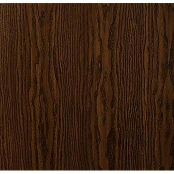 Klebefolie Holzdekor Möbelfolie Holz Eiche natur dunkel 45
