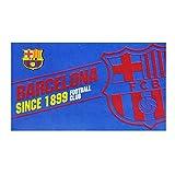 Fan-Fahne mit FC Barcelona Design (150 x 90 cm) (Blau/Scharlachrot)