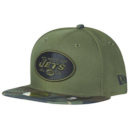 New Era 59Fifty Cap - New York Jets Wood camo - 7 7/8 -