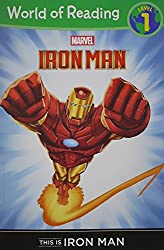 This Is Iron Man Level 1 Reader (Marvel Heroes of Reading - Level 1)