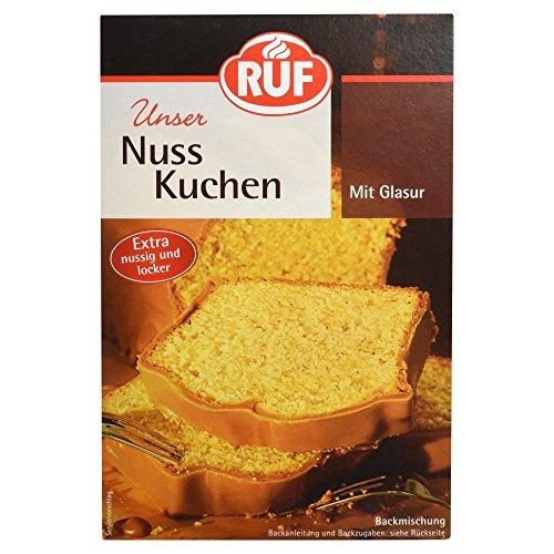 Ruf Nußkuchen Backmischung,13716 1er Pack (1x 520 g Packung)