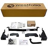 Starre Westfalia Anhängerkupplung für Corsa Combo Van (BJ 03/2002 - 01/2012) im Set mit 13-poligem fahrzeugspezifischen Westfalia Elektrosatz
