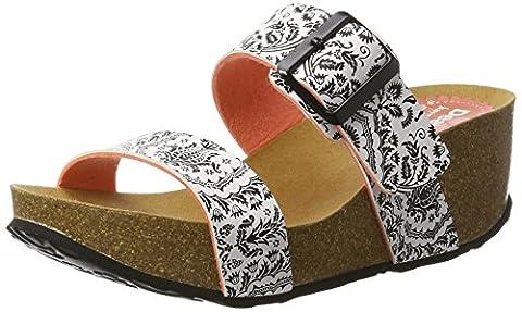 Chaussures Desigual - Desigual Bio8 Save the Queen Blac, Sandales