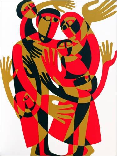 Posterlounge Acrylglasbild 120 x 160 cm: Alle Menschen sind frei und gleich geboren von Ron Waddams/Bridgeman Images - Wandbild, Acryl Glasbild, Druck auf Acryl Glas Bild