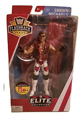 WWE Flashback Limited Edition Shawn Michaels The Heartbreak Kid HBK Action Figure Wrestling (Shawn Michael Wwe Spielzeug)