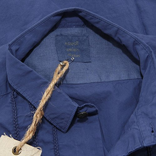 5654L camicia uomo viola COAST WEBER manica lunga camicie shirts men Viola