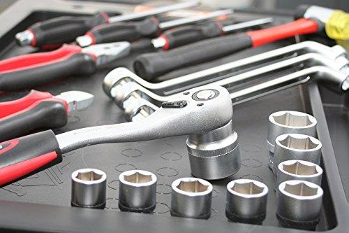 BD-Tools Werkstattwagen bestückt rot - 7