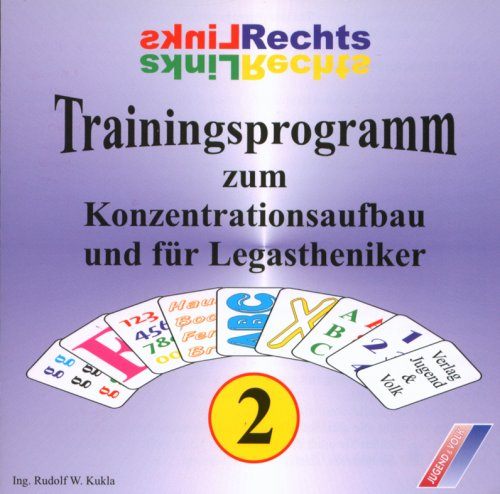 Trainingsprogramm 2. Zum Konzentrationsaufbau und für Legastheniker. CD-ROM.