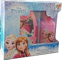 Descrizione: Simpatico e colorato set Porta merenda con borraccia della principessa Frozen, ottimo regalo per rendere felice la tua bambina e allegro il suo pasto. Bellissimo e pratico set adatto anche per la scuola di anna e elsa.