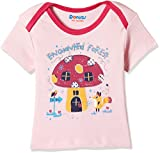 #3: Donuts Baby Girls' T-Shirt (268577062_LT-PINK_9M_HS)