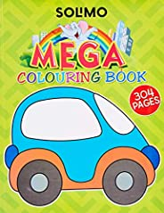 Amazon Brand - Solimo Mega Colouring Book