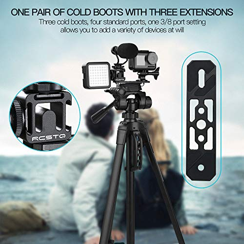Hubschrauber,TwoCC W/Extensions Adapter Cold Boots Universal Halter für DJI Pocket Action -