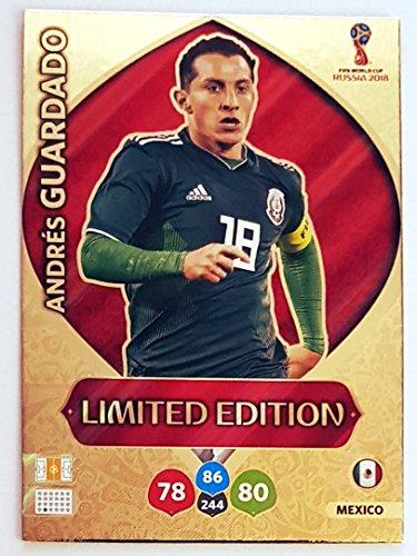 Panini ADRENALYN XL FIFA World Cup 2018 Russia - Tarjeta de Entrenamiento de Edición Limitada Andres Guardado – Mexico
