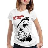 style3 No Women, No Kids Damen T-Shirt Leon der Profi Portman Nathalie Reno Jean, Farbe:Weiß, Größe:S