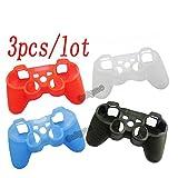 3Pcs/Lot Nouveau en Caoutchouc de Silicone Gamepad Joypad Coque de Protection pour...