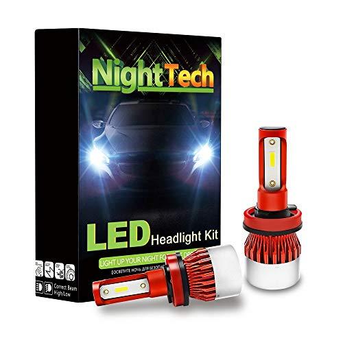 Preisvergleich Produktbild LJP Mini-Scheinwerferlampen-Umbausatz,  beleuchtet Mobile modifizierte Scheinwerfer Chip-Scheinwerfer DOB-Lampenperlen Frontleuchte 5400lm Glühlampen Off-Road, H1