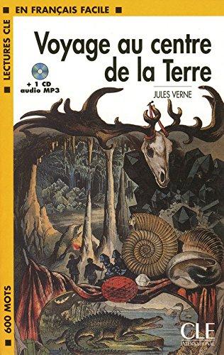 Voyage au centre de la terre - book & CD MP3 (Lectures clé en français facile) por Jules Verne