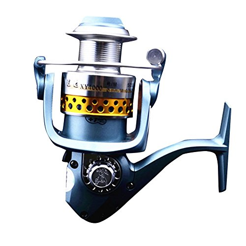WINBEST 9 + 1bb 5.0:1 Carrete Pesca BaitFeeder Pescador XY3000(XY3000)