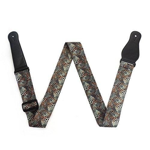 lemmikki-verstellbar-weiches-polyester-buntes-gitarre-schultergurt-leopard